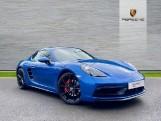2018 Porsche GTS 2-door (Blue) - Image: 1