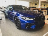 2021 BMW 4.4i V8 Competition Steptronic xDrive 4-door (Blue) - Image: 4