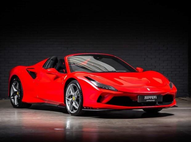 Reserve your 2020 Ferrari F8 Spider V8 Spider F1 DCT 2-door