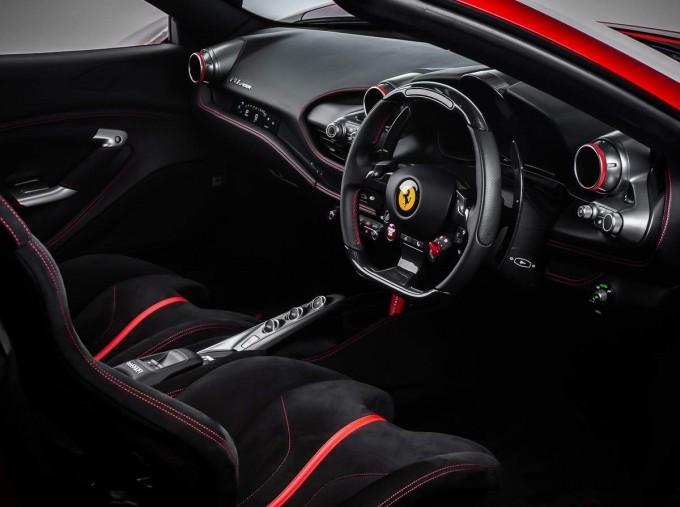 2020 Ferrari V8 Spider F1 DCT 2-door (Red) - Image: 4