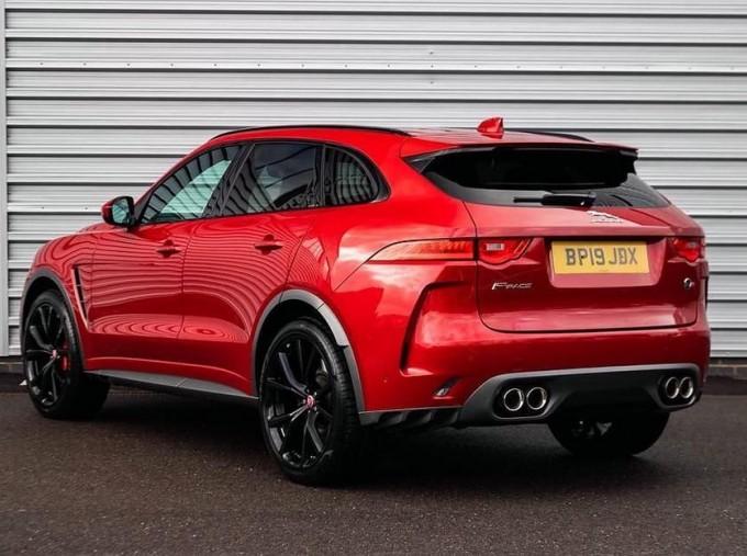 2019 Jaguar V8 SVR Quickshift 5-door (Red) - Image: 2