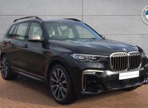 Brand new 2019 BMW X7 M50d 5-door finance deals