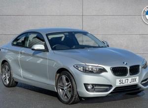 Brand new 2017 BMW 2 Series 218i Sport Coupe 2-door finance deals