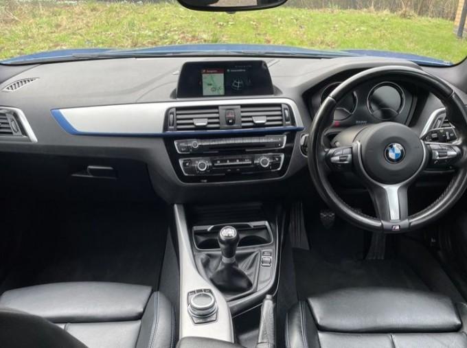 2019 BMW 118i M Sport Shadow Edition 5-door (Blue) - Image: 4