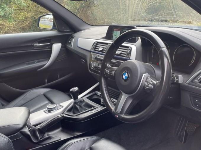 2019 BMW 118i M Sport Shadow Edition 5-door (Blue) - Image: 6