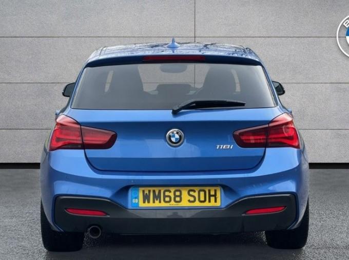 2019 BMW 118i M Sport Shadow Edition 5-door (Blue) - Image: 15