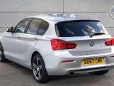 2017 BMW 118d Sport 5-door (Silver) - Image: 2