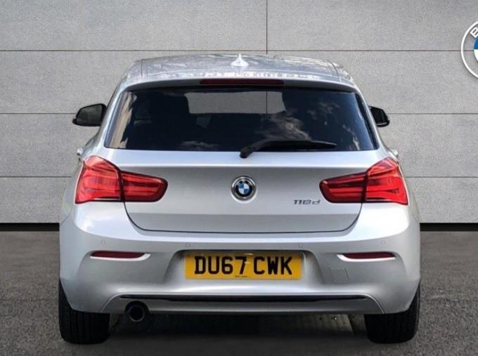 2017 BMW 118d Sport 5-door (Silver) - Image: 15