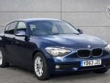 2013 BMW 118d SE Sport 5-door (Blue) - Image: 1