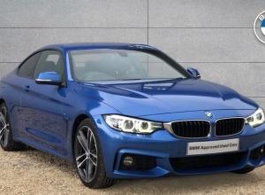 Brand new 2017 BMW 4 Series 420d M Sport Coupe 2-door finance deals