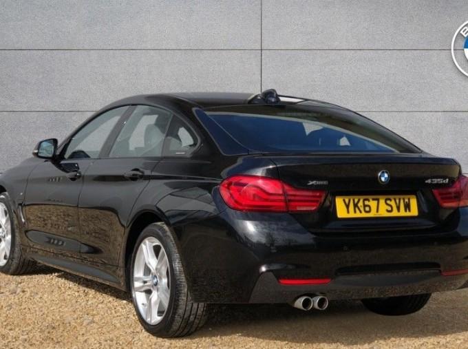 2017 BMW 435d xDrive M Sport Gran Coupe (Black) - Image: 2