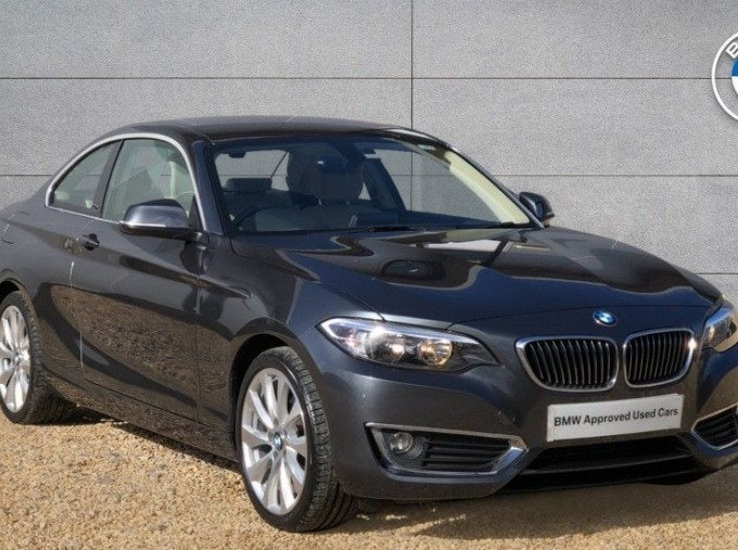 2016 BMW 220i Luxury Coupe (Grey) - Image: 1