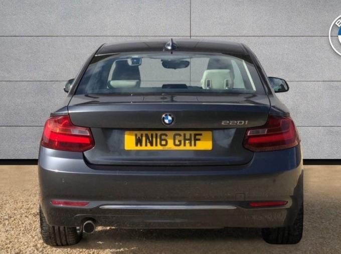 2016 BMW 220i Luxury Coupe (Grey) - Image: 15