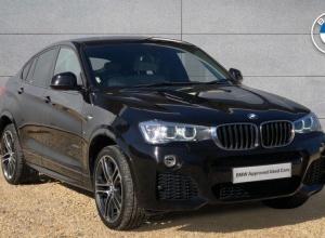 Brand new 2017 BMW X4 Series X4 xDrive20d M Sport 5-door finance deals