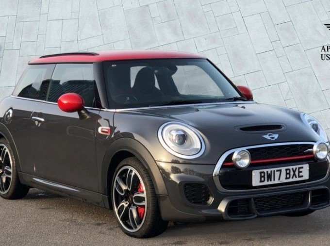 2017 MINI John Cooper Works 3-door Hatch (Grey) - Image: 1