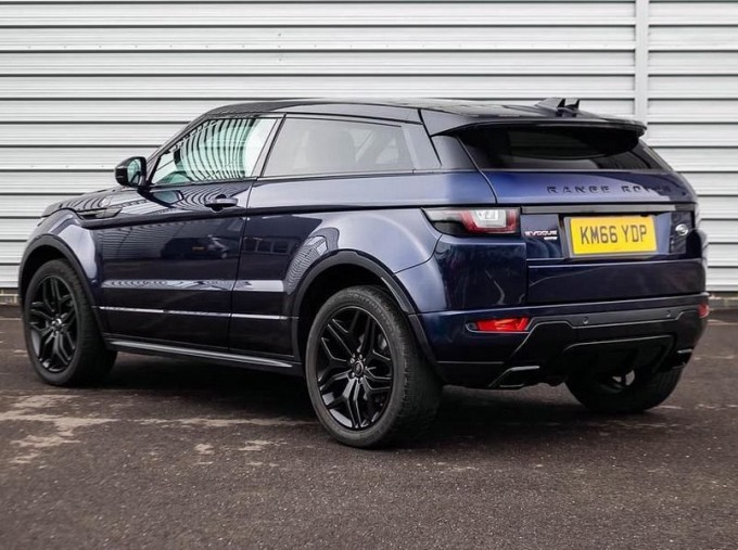 2016 Land Rover TD4 HSE Dynamic Auto 4WD 3-door (Blue) - Image: 2