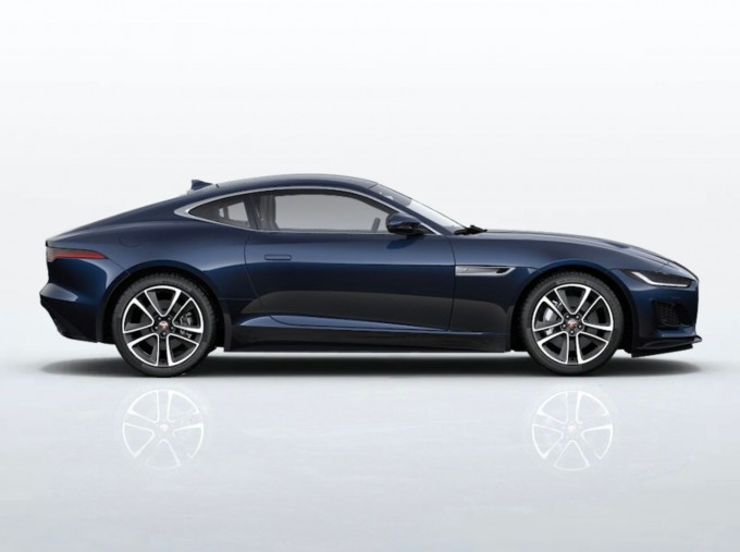 2021 Jaguar V8 R-Dynamic Auto 2-door (Blue) - Image: 2