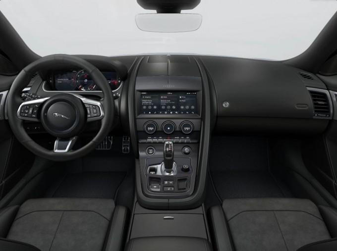 2021 Jaguar V8 R-Dynamic Auto 2-door (Blue) - Image: 4