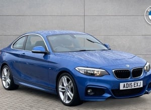 Brand new 2015 BMW 2 Series M Sport Coupe 2-door finance deals