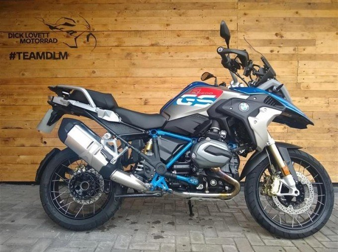 2017 BMW R1200GS Unlisted Unknown (Blue) - Image: 1