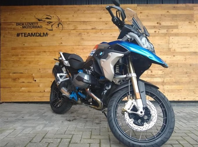 2017 BMW R1200GS Unlisted Unknown (Blue) - Image: 3