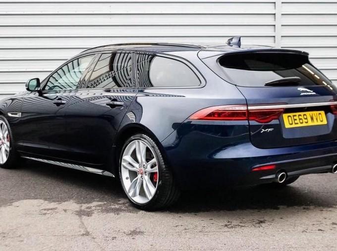 2020 Jaguar V6 S Sportbrake Auto 5-door (Blue) - Image: 2