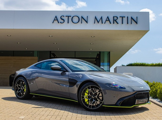 2020 Aston Martin V8 AMR Hero 2-door (Grey) - Image: 1