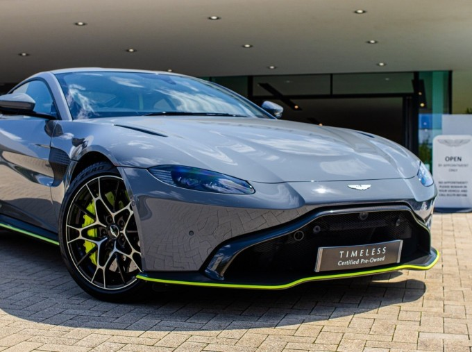 2020 Aston Martin V8 AMR Hero 2-door (Grey) - Image: 3