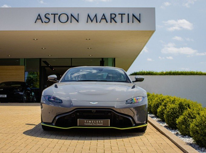 2020 Aston Martin V8 AMR Hero 2-door (Grey) - Image: 9