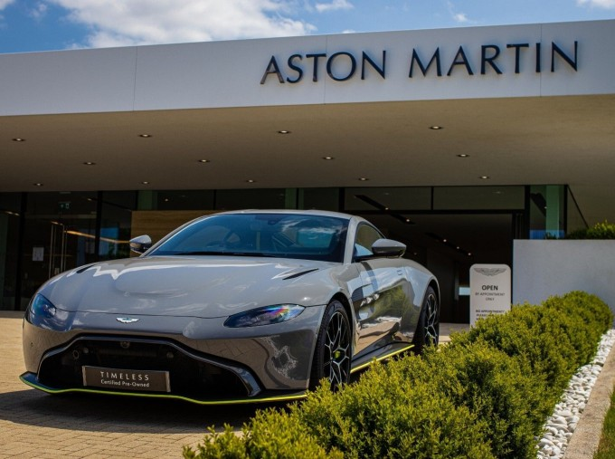 2020 Aston Martin V8 AMR Hero 2-door (Grey) - Image: 10