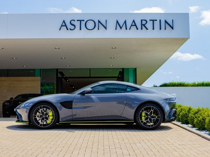 2020 Aston Martin V8 AMR Hero 2-door (Grey) - Image: 12