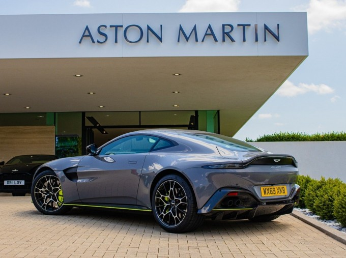 2020 Aston Martin V8 AMR Hero 2-door (Grey) - Image: 13