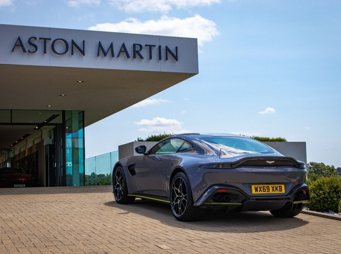 2020 Aston Martin V8 AMR Hero 2-door (Grey) - Image: 17