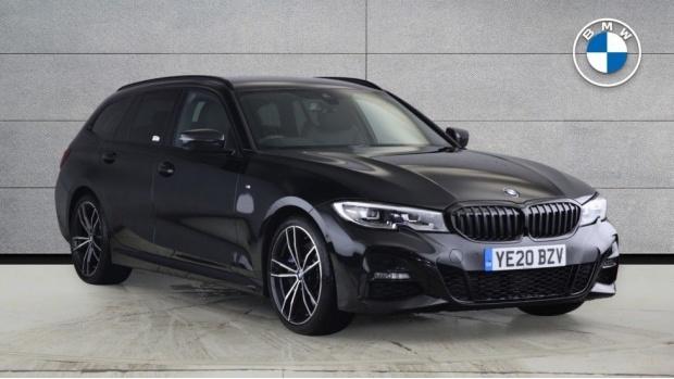 2020 BMW 320d M Sport Touring (Black) - Image: 1