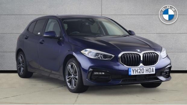 2020 BMW 120d xDrive Sport (Blue) - Image: 1