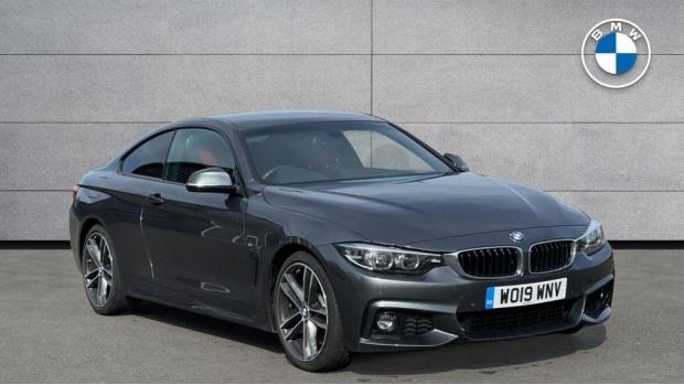 2019 BMW 430i M Sport Coupe Auto (Grey) - Image: 1