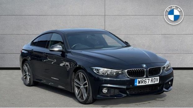2017 BMW 420d M Sport Gran Coupe (Black) - Image: 1