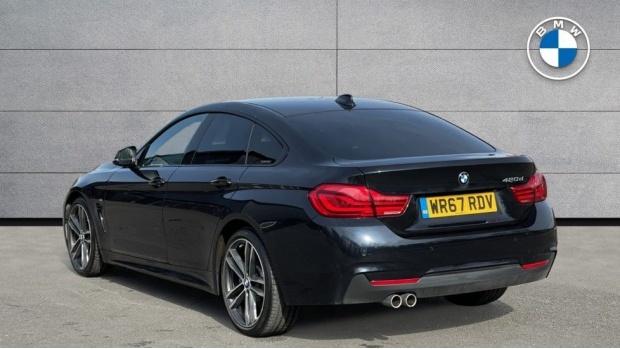 2017 BMW 420d M Sport Gran Coupe (Black) - Image: 2