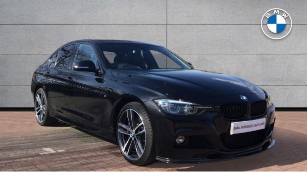 2017 BMW 335d xDrive M Sport Shadow Edition (Black) - Image: 1