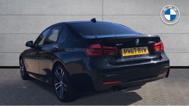 2017 BMW 335d xDrive M Sport Shadow Edition (Black) - Image: 2
