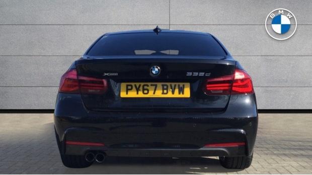 2017 BMW 335d xDrive M Sport Shadow Edition (Black) - Image: 15