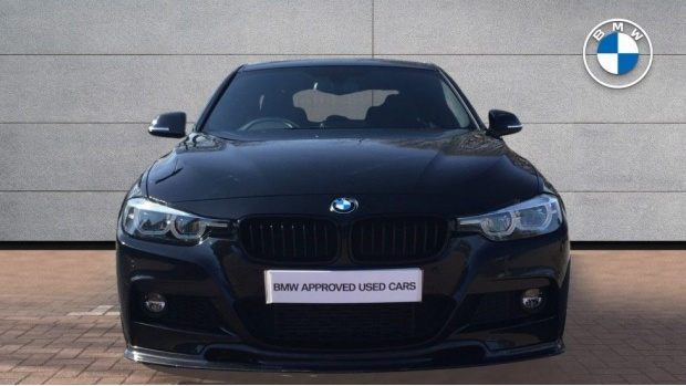 2017 BMW 335d xDrive M Sport Shadow Edition (Black) - Image: 16
