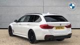 2018 BMW 520d M Sport Touring (White) - Image: 2