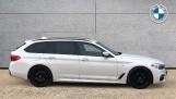 2018 BMW 520d M Sport Touring (White) - Image: 3