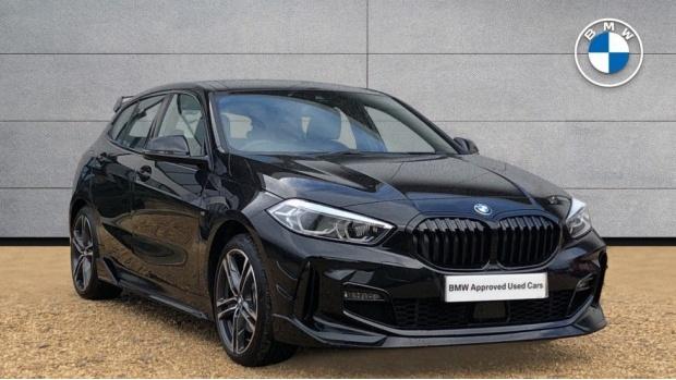 2021 BMW 118i M Sport (Black) - Image: 1