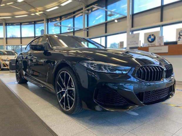 2021 BMW 840i M Sport Gran Coupe Steptronic 4-door (Black) - Image: 1