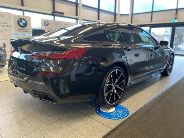 2021 BMW 840i M Sport Gran Coupe Steptronic 4-door (Black) - Image: 3