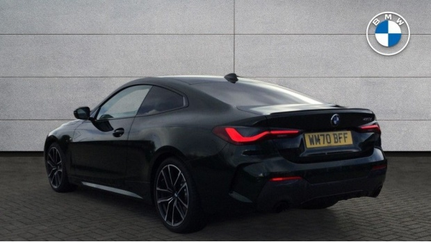 2020 BMW 420d M Sport Coupe (Green) - Image: 2