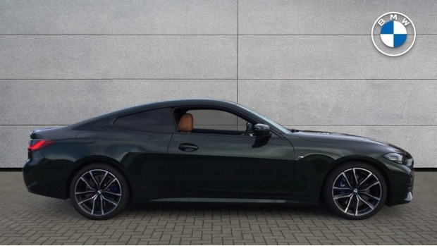 2020 BMW 420d M Sport Coupe (Green) - Image: 3