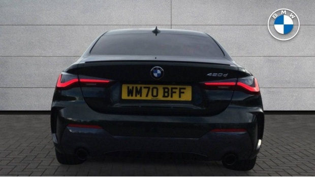 2020 BMW 420d M Sport Coupe (Green) - Image: 15